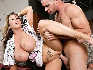 Kandi Cox & Charles Dera in My Friends Hot Mom big tits facial point of view