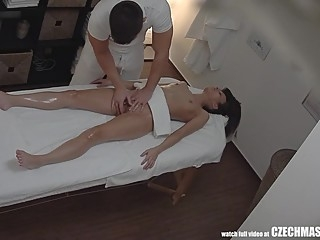 Her ASS is so tight for ANAL sex anal czech massage