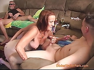 We make a family Porno part 2 blowjob bisexual milf