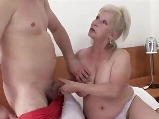 MTHRFKR – Granny gets Fucked by Her Grandson (Roleplay) bbw mature milf