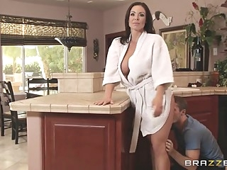 Mommy Got Boobs: Sneaky Mom. Kendra Lust, Brick Danger big tits blowjob brunette